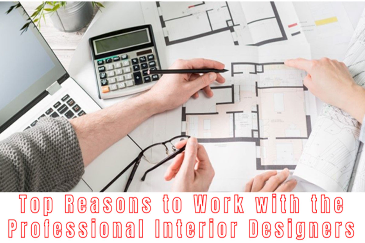 Top Reasons to Work with the Professional Interior Designers